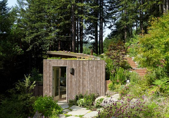 Side View of Mill valley Cabin
