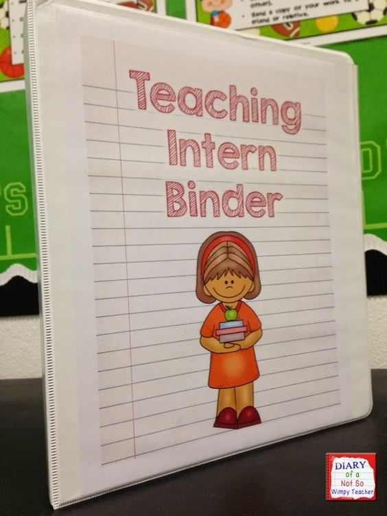 Diary of a Not So Wimpy Teacher: Preparing for a Teacher Intern with a FREEBIE