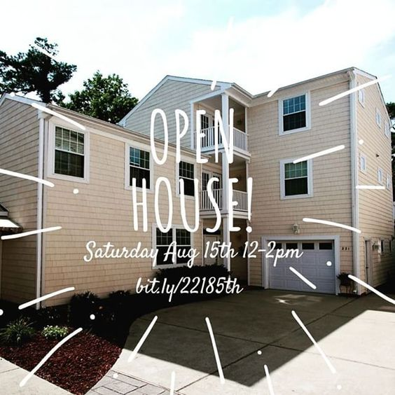 #northend #openhouse in #vabeach 221 85th Street. Beach is just steps away. Your dream home awaits! #Twitter