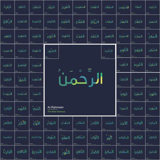 Al Asma Ul Husna 99 Names Of Allah Allah Names Allah Names