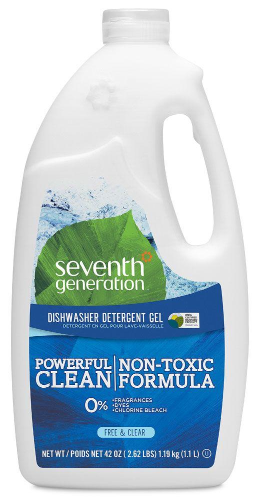 Seventh Generation Automatic Dishwasher Detergent Free Clear 2 62 Lbs Dishwasher Detergent Natural Dishwasher Detergent Best Dishwasher Detergent
