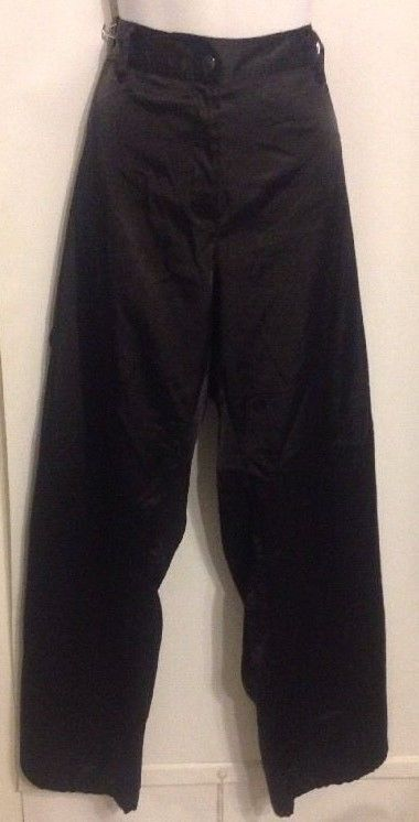 Details about Lane Bryant Size 18 Cargo Pants Black Soft Satin ...