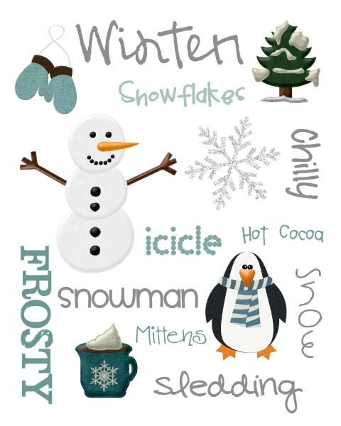 Ideas for my winter themed quilt: Christmas Subway Art Printable, Winter Printables, Winter Subway Art Printable, Christmas Winter, Winter Wonderland, Christmas Printables, Free Printable, Christmas Photos