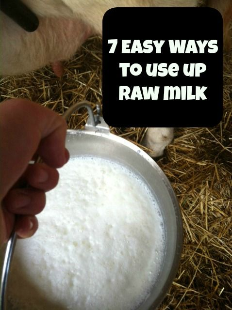 consumption of unpasteurized milk Get up to date on the health benefits of raw milk.