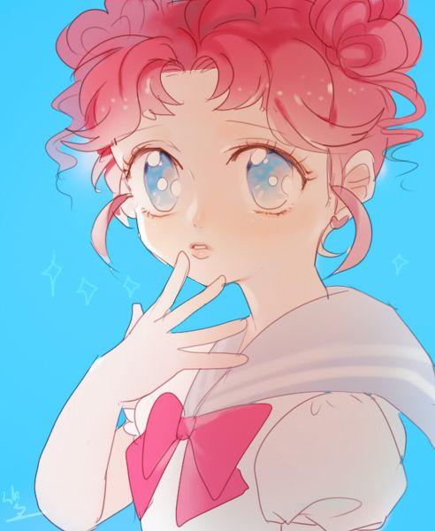 Sailor Chibi Chibi セーラームーン落書きだらけ by shamko on pixiv