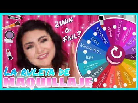 Reto De La Ruleta De Maquillaje Makeup Roulette Challenge Youtube Maquillaje Makeup Tutoriales De Maquillaje Mascara Base