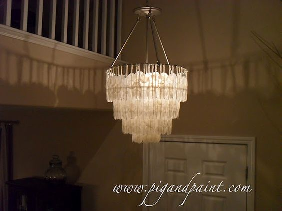 Most awesome DIY chandelier.