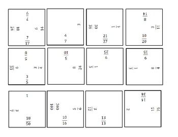 math worksheet : equivalent fractions puzzle  equivalent fractions fractions and  : Fractions Puzzle Worksheet