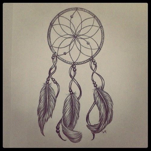 dreamcatcher tattoo design my art pinterest flower design and love this. Black Bedroom Furniture Sets. Home Design Ideas