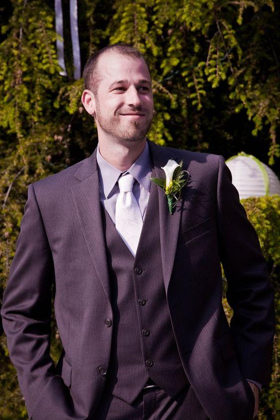 Chic, Green  White Garden Wedding in Full Bloom   Brideage