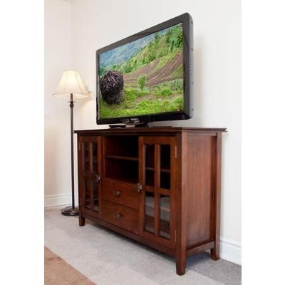 Best Simplihome Holden Collection Tall Tv Stand Axchol005 400 x 300