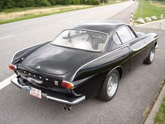 The Volvo P1800 from the rear. Love those lines