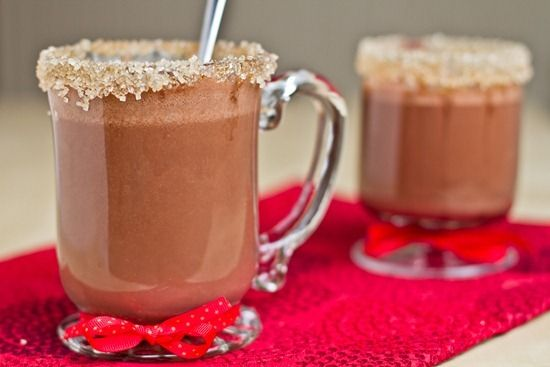 Chocolate Peanut Butter Hot Cocoa