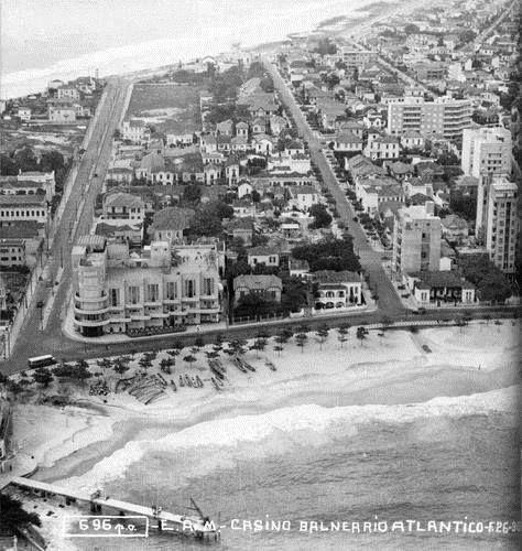Copacabana Posto 6 Cassino Atlântico anos 40