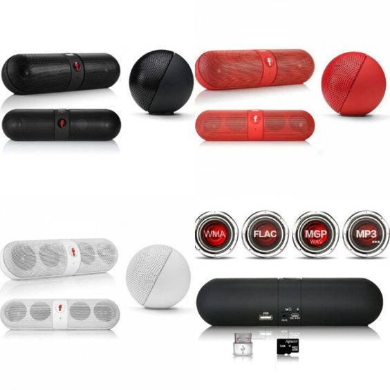 A Multi-function Wireless Bluetooth Pill Speaker Five ☆ Star is a modern and fashionable product . Colors that are available in black, white and red only for now, It was made of ABS and pc materials which make it weight-light and portable. Its pill shape design makes it easy to hold. Using advanced Bluetooth technology, you can enjoy music anytime and anywhere. The speaker is suitable for any Bluetooth devices. Despite its compact size, the Pill produces powerful sound. It's eas...