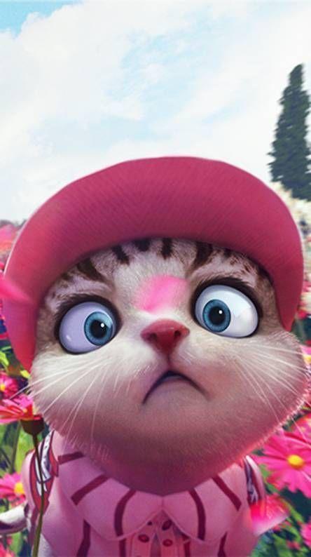 Wallpaper Free Fire Pet Cat Cute Karya Seni 3d Gambar Anak Kucing