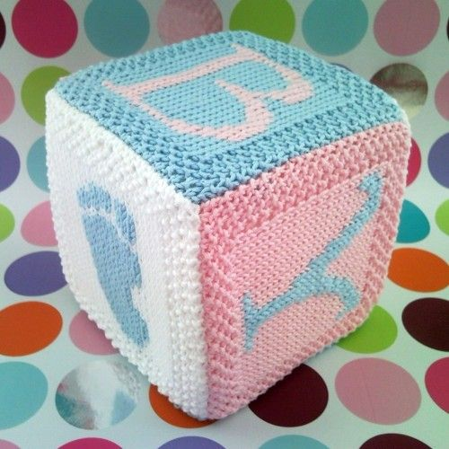 Free Easy Crochet Patterns For Baby Toys : Knitting patterns baby, Building & blocks and Knitting ...