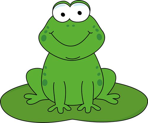Praying Clip Art Frog