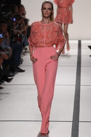 A Look I liked in Elie Saab Spring 2014 Ready-to-Wear Collection