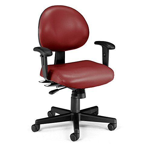 Ofm Inc 24 Hour Computer Task Chair With Arms Office Chair Task Chair Cheap Desk Chairs