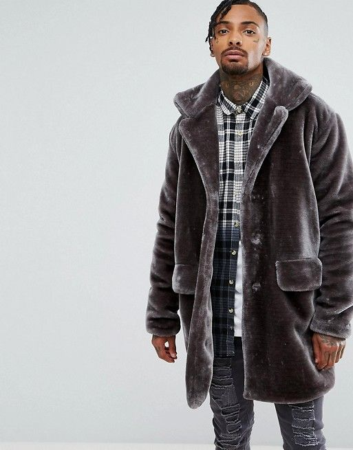 mens teddy coat dressing gown