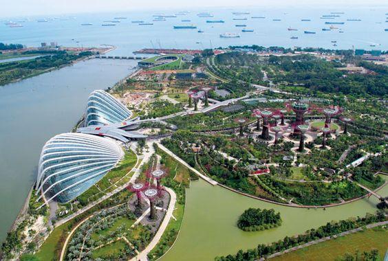 Sông Singapore sở hữu vẻ đẹp kì ảo