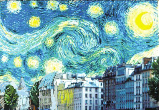poster, Midnight in Paris