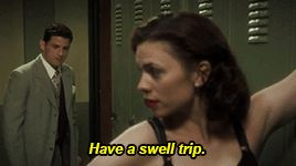 The Iron Ceiling. Thompson being a jerk per usual but Daniel and Peggy were so cute during this scene.