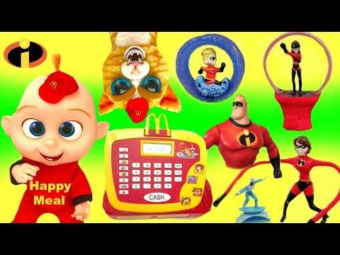 The Incredibles Full Set Of Mcdonald S Happy Meal Toys Youtube Happy Meal Mcdonalds Happy Meal Happy Meal Toys