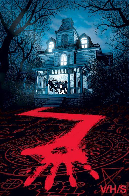 V/H/S Horror Poster
