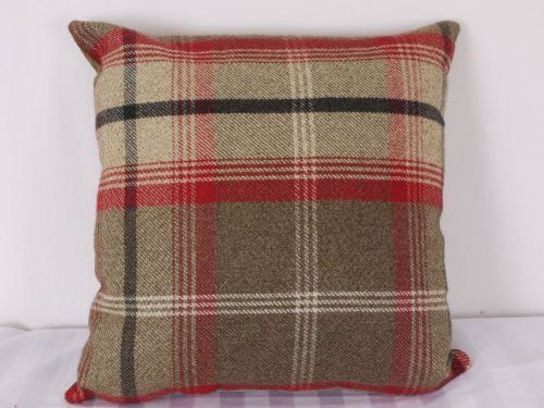 Highland Mist Tartan 16in x 16in Cushion Cover in Red Cuthbert and Black http://www.amazon.co.uk/dp/B00F42MVOW/ref=cm_sw_r_pi_dp_yKwHwb0RPS292