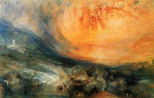 Goldau - William Turner