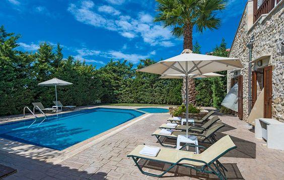 La Villa Asteri en Crète : relaxation garantie !