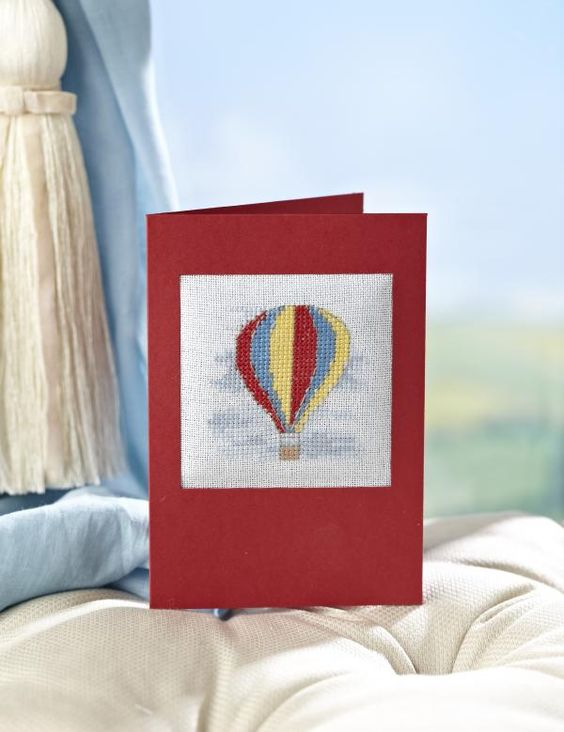 This mini balloon chart from Jenny Barton is perfect for cards