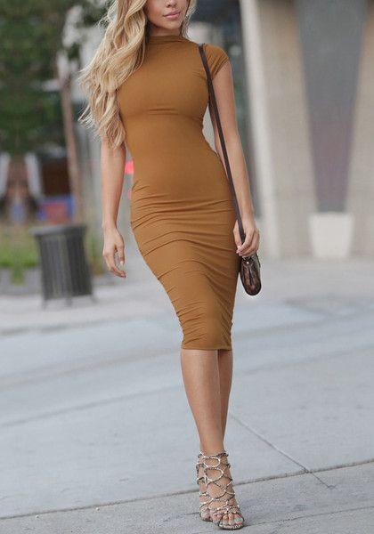 Modelo de Vestido Tubinho admirável