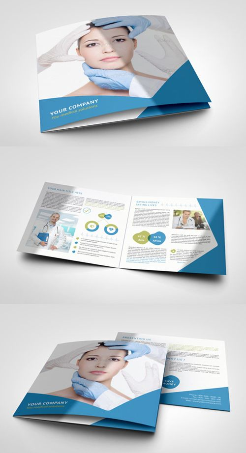 Modern Corporate Business Flyer Poster Part 03 - free medical brochure templates