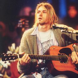 Founder of 'Grunge' Mr Kurt Cobain lead singer from 'Nirvana' <3!! RIP!
