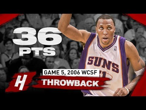 The Game Shawn Marion Showed Off Vs Clippers Full Highlights Game 5 2006 Nba Playoffs Youtube In 2020 Nba Playoffs Shawn Marion Phoenix Suns Basketball