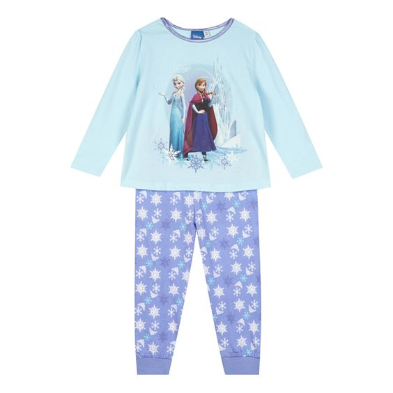 Disney Frozen Girl's aqua 'Frozen' pyjama set- at Debenhams.com