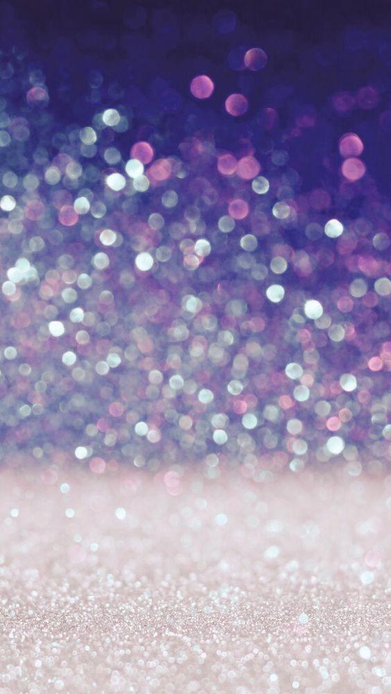 Pink Purple Glitter Gradient Iphone Wallpapers