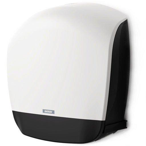 Pojemnik Na Papier Toaletowy Katrin Gigant S Inclusive Dozownik O Nowoczesnym Designie I Kolorystyce Umozliwiajacej Idealnie Dopasowanie Do Wiekszosci Pomies