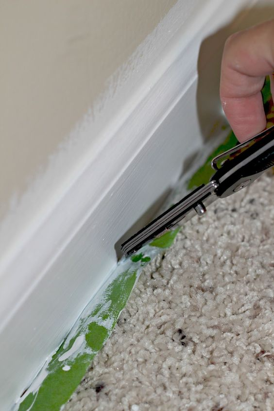 oak trim baseboards and how to paint on pinterest