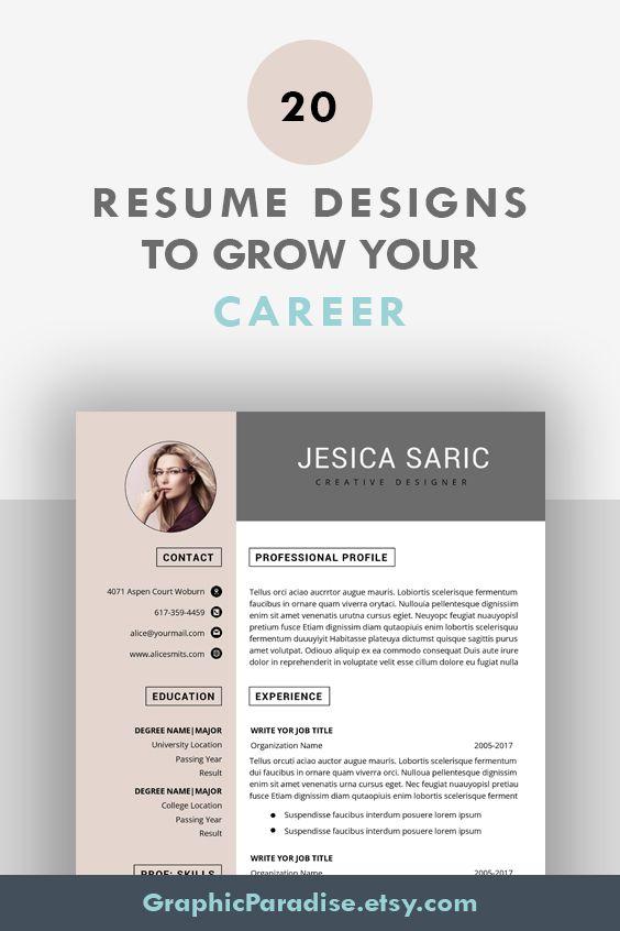 Google Docs Resume Template Simple Resume Template Google Etsy In 2020 Simple Resume Template Resume Template Free Resume Templates