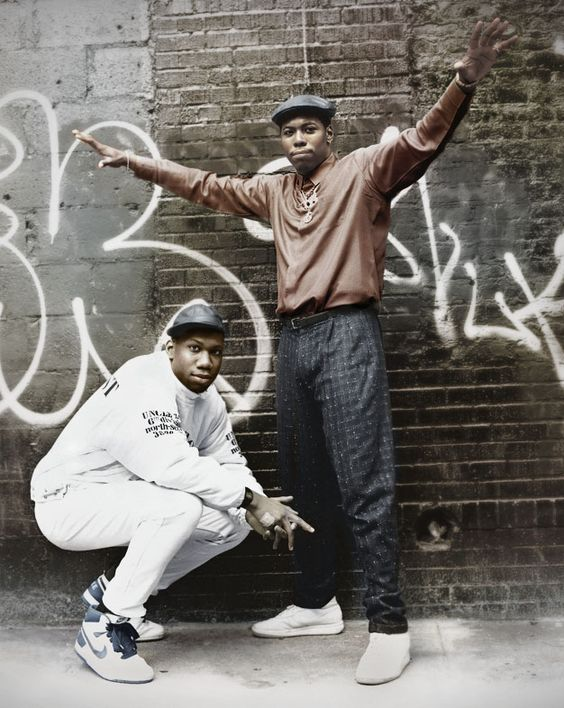 Boogie Down Productions, KRS-One and Scott La Rock, 1987: