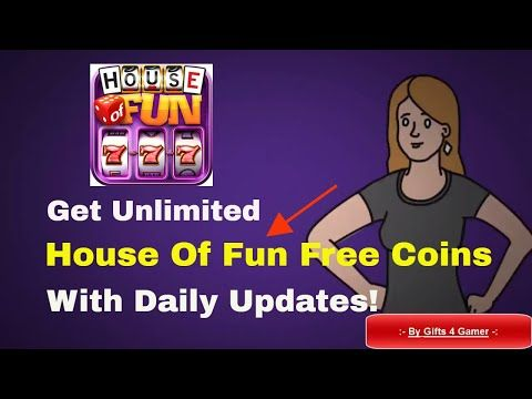 House Of Fun Free Coins Unlimited Daily House Of Fun Cheats Freebies By Gifts4gamer Youtube Free Slot Games Free Slots Cheating