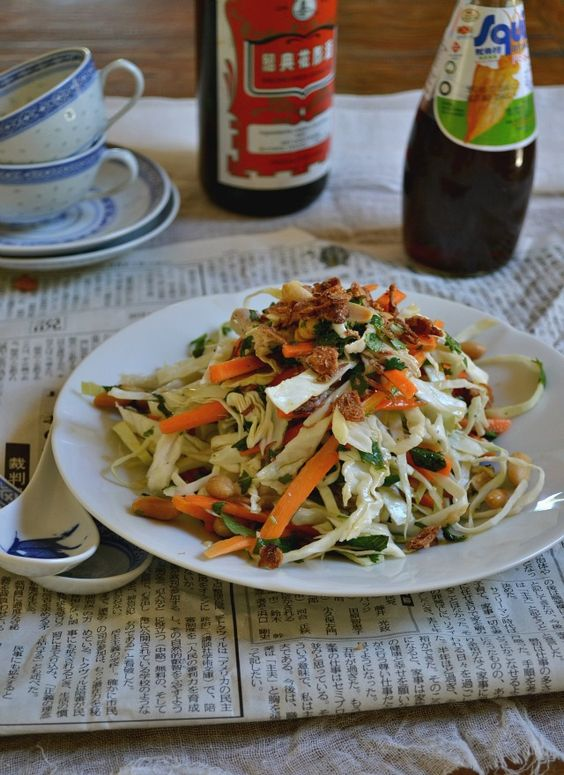 vietnam chicken salad recipe video