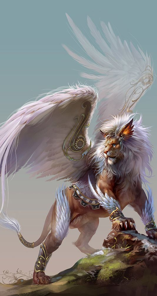 """""""Chimera"""" / White Lion King my sweet Baby Kitty at heart"""