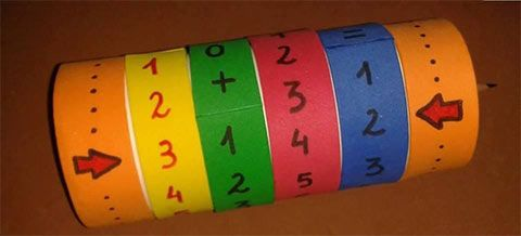 وسائل تعليمية لرياض الاطفال لتعليم الجمع أنشطة منتسوري بالعربي نتعلم Primary Maths Games Letter Identification Activities Diy And Crafts