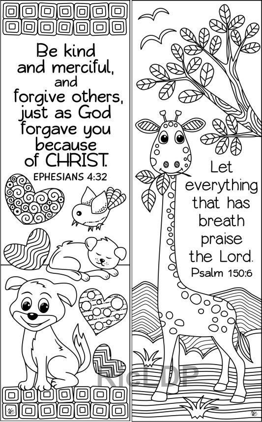 Set Of 8 Animals Insects Bible Coloring Bookmarks Cute Christian Markers Scripture Arts Digital Download In 2021 Bible Coloring Coloring Bookmarks Bible Verse Coloring