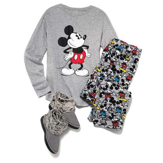 Disney Mickey Soft-and-Cozy PJ Set in Misses. Avon. Full-length angel fleece polyester pants and long-sleeve cotton/polyester jersey top. NEW! Regularly $29.99.  #CJTeam #Avon #Style #Sale #Fashion #New #Disney #Mickey #PJ #Pajamas FREE shipping with any $40 online Avon purchase.  Shop Avon fashion online @ www.thecjteam.com.
